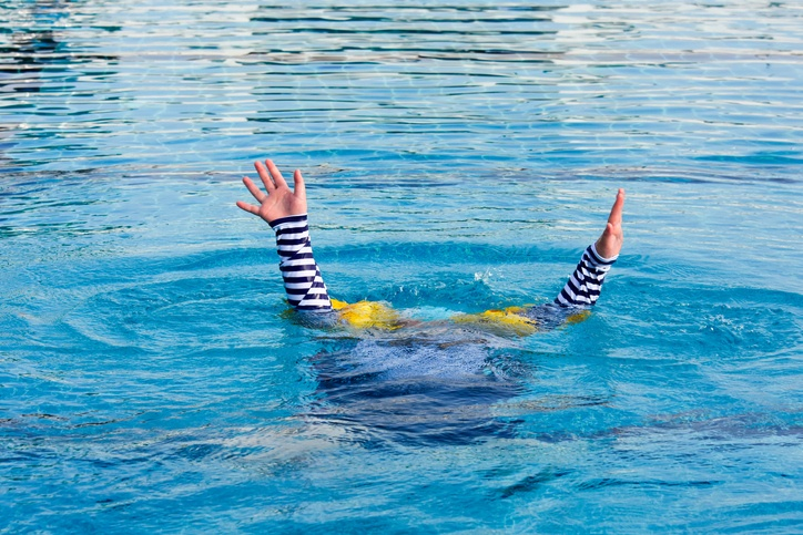 Photo of person drowning in bad decisions